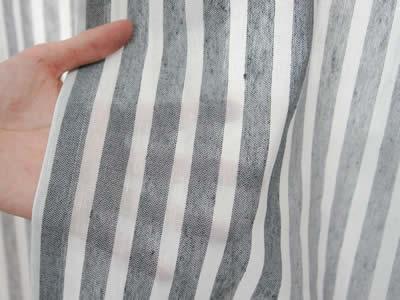 カフェカーテン リネン調 北欧 レース オーダー おしゃれ -Sachet- レースカーテン /●ベルガモット/【CH718】 幅130cm×45cm丈/70cm丈 キッチンやトイレの小窓に[つっぱり棒で使えるカーテン レース ショート丈 ロング丈 窓 目隠し 友安製作所]