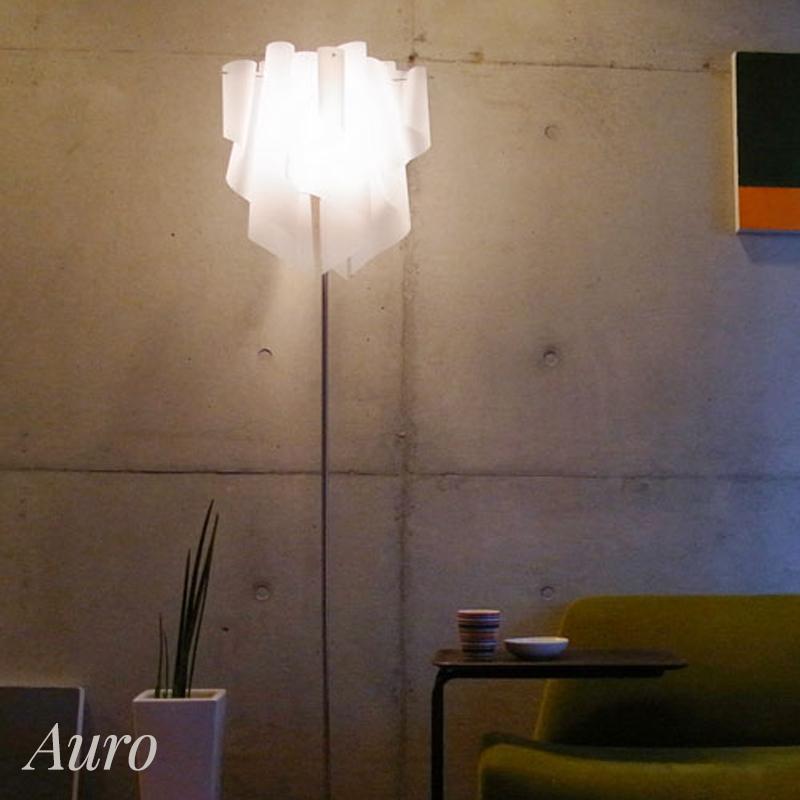 照明 ライト diclasse ディクラッセ 友安製作所 スタイルダート 照明器具 照明通販 フロアランプ フロアライト スタンドライト 置き照明 ホワイト 透明 オーロラ おしゃれ LED 書斎 寝室 ベッドルーム 洋室 和室 灯り Auro アウロ フロアランプ JQ