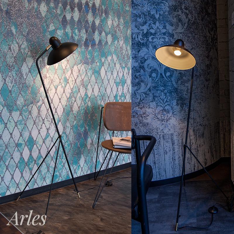 [全品対象10%OFF×本日限定クーポン]照明 ライト インテリア おしゃれ diclasse ディクラッセ LED 電球 Arles アルル フロアランプ フロアライト スタンドライト 書斎 寝室 ベッドルーム 洋室 和室 灯り Arles アルル フロアランプ 即日出荷