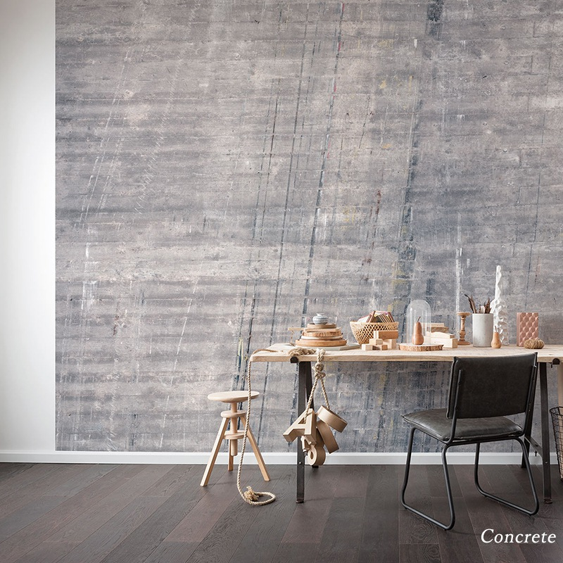 [全品対象10%OFF×本日限定クーポン]壁紙 クロス 輸入壁紙 インポート壁紙 おしゃれ はがせる 張り替え 補修 のり付き だまし絵 wallpaper コマー Concrete コンクリート P744-VD4