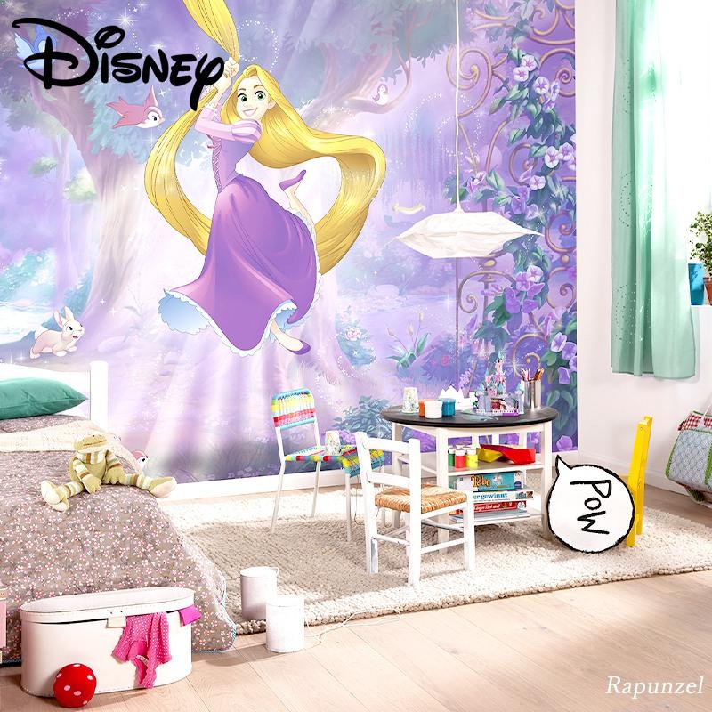 [全品対象ポイント10倍×20日20:00~23:59]壁紙 クロス 輸入壁紙 インポート壁紙 ディズニー DISNEY おしゃれ はがせる 張り替え 補修 のり付き だまし絵 wallpaper コマー Rapunzel ラプンツェル 8-451