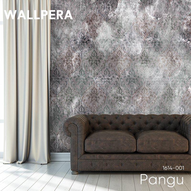 [全品対象10%OFF×本日限定クーポン]輸入壁紙 おしゃれ 壁紙 クロス 不織布 WALLPERA 北欧 1614-001 Pangu パング 友安製作所