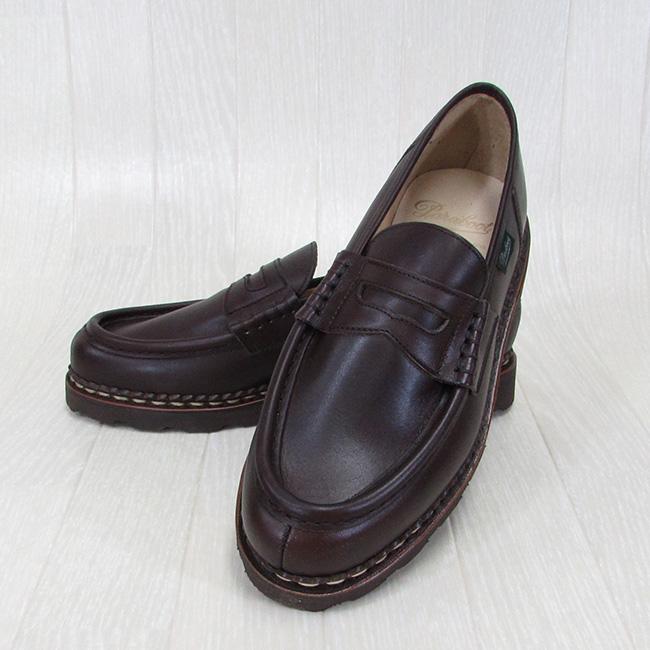 Paraboot帕拉长筒靴人低毛皮兰斯REIMS 099413蒂罗尔的鞋法国制鞋/CAFE咖啡厅尺寸:6.5/7/7.5/8/8.5/9