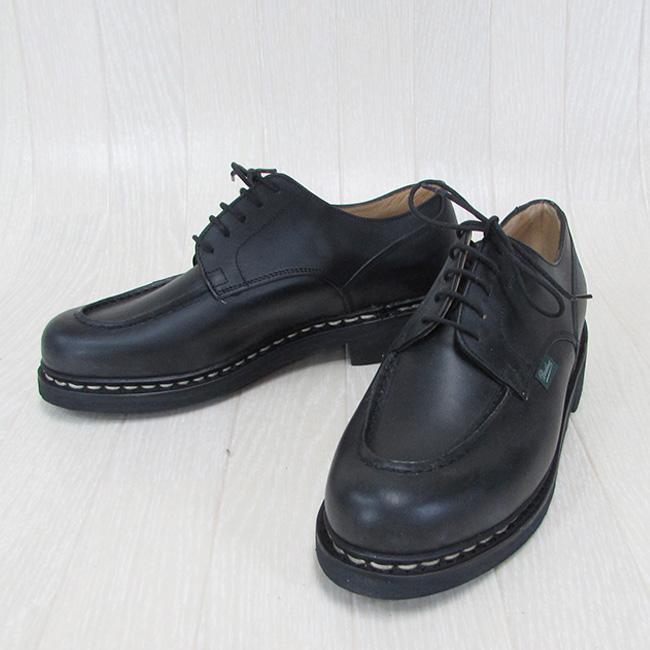 Paraboot パラブーツ CHAMBORD シャンボード 710709 メンズ Uチップ レザー シューズ 本革 靴 紳士靴 フランス製 /NOIR ノワール サイズ:5.5/6/6.5/7/7.5/8/8.5/9/9.5