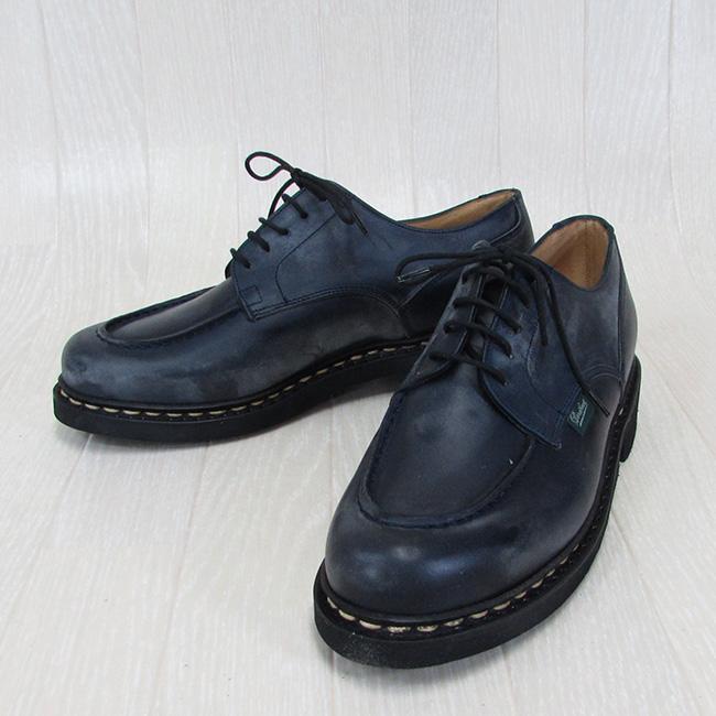 Paraboot パラブーツ CHAMBORD シャンボード 710710 メンズ Uチップ レザー シューズ 本革 靴 紳士靴 フランス製 /NUIT ヌイト サイズ:5.5/6/6.5/7/7.5/8/8.5/9