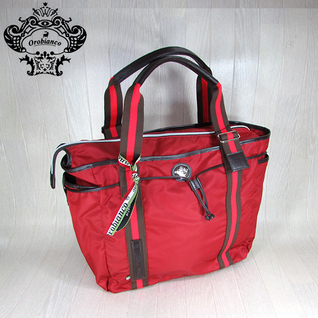 オロビアンコ Orobianco トートバッグ ブリーフケース ビジネスバッグ メンズ バッグ ARINNA-C01/03/レッド