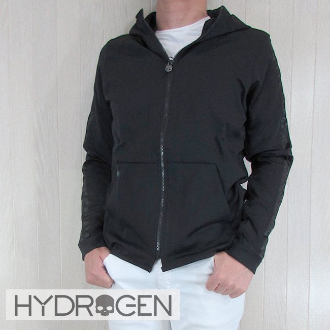 ハイドロゲン HYDROGEN パーカーパーカー ジップアップ パーカー スウェット メンズ 210206/007/ブラック サイズ:S~XL