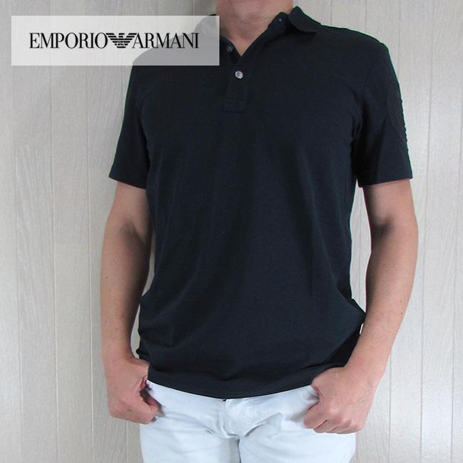 エンポリオ アルマーニ EMPORIO ARMANI メンズ 半袖 ポロシャツ 3Y1FC2 1JBCZ/920/ネイビー サイズ:S~3XL