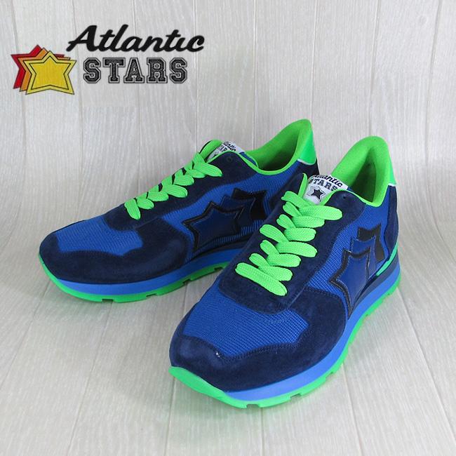 AtlanticSTARS アトランティックスターズ スニーカーANTARES AM 38VF / ブルー/グリーン サイズ:40~45
