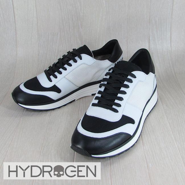 ハイドロゲン HYDROGEN スニーカー ローカット シューズ 靴 メンズ 223708/077/ホワイト/ブラック サイズ:41~44