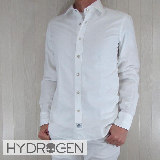 ハイドロゲン HYDROGEN シャツ 長袖 メンズ 長袖シャツ 220410//ホワイトカモ サイズ:S~XL