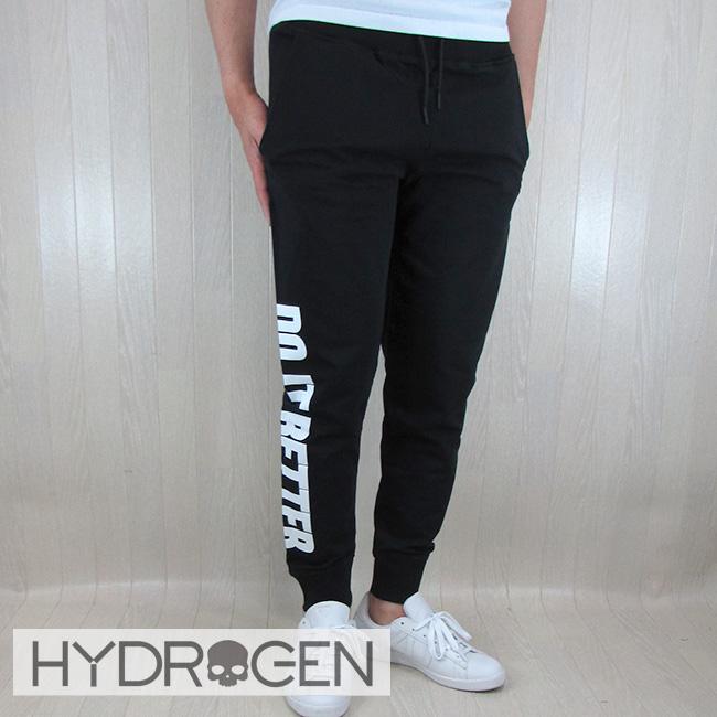 ハイドロゲン HYDROGEN スウェット パンツ メンズ スエット ボトムス 220614 / 007 ブラック サイズ:S~XXL