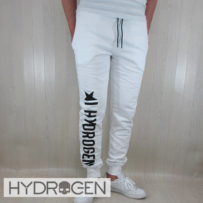 ハイドロゲン HYDROGEN スウェット パンツ メンズ スエット ボトムス 220604 / 001 ホワイト サイズ:S~XXL