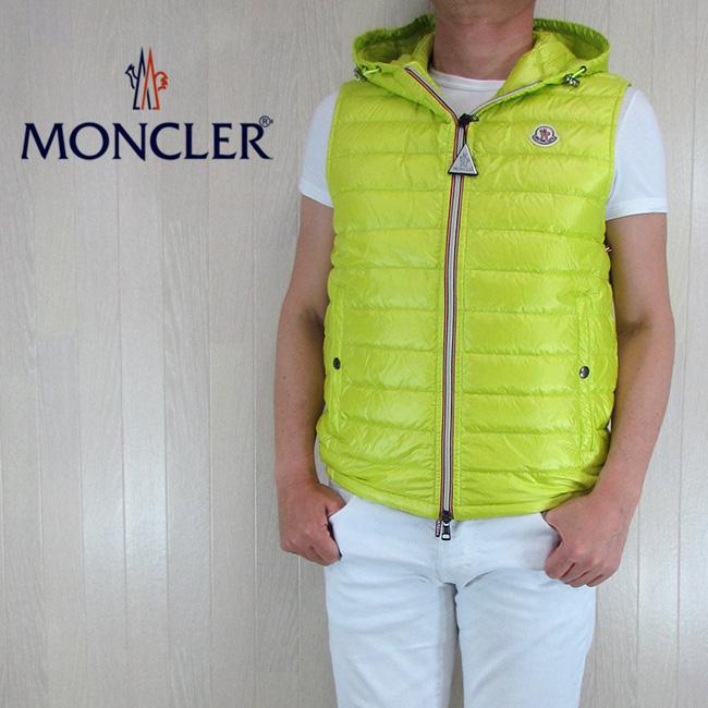 モンクレール MONCLER メンズ ダウンベスト ダウン ベスト ライトダウン GIEN/4332499 53029/101/イエロー サイズ:1~4