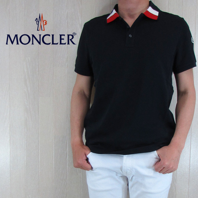 モンクレール MONCLER メンズ ポロシャツ 半袖 トップス 8305200 84556/773/ネイビー 紺 サイズ:S~XL