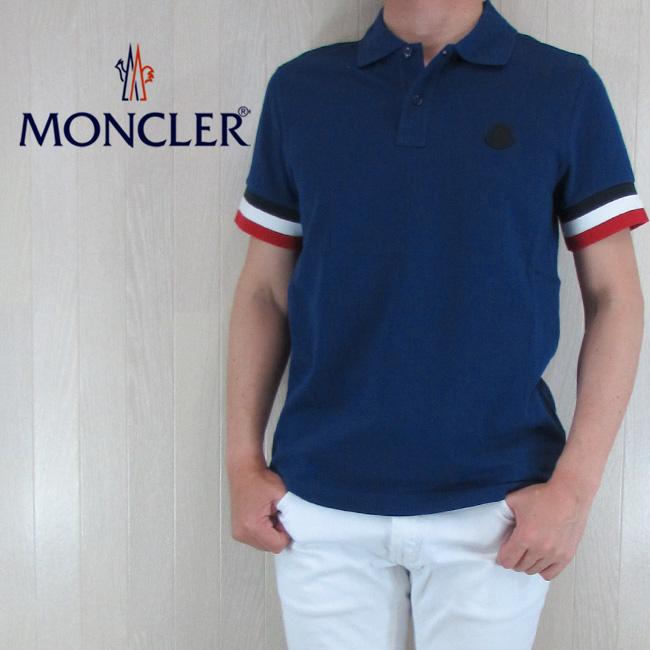 【レビューで送料無料】 モンクレール MONCLER メンズ ポロシャツ 半袖 トップス 8318400 84556 ポロシャツ 8318400 モンクレール/76A/ブルー サイズ:S~XL, ラック照明 専門店 オールライト:c0c1f71e --- portalitab2.dominiotemporario.com