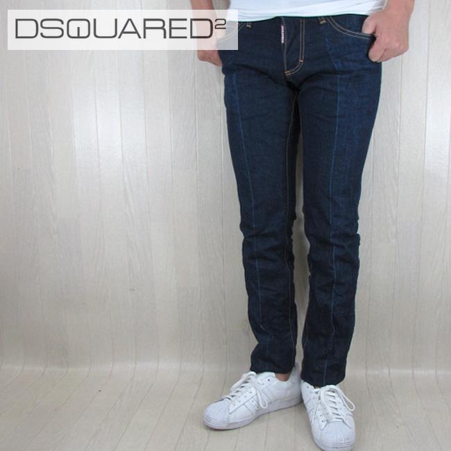 ディースクエアード DSQUARED2 デニム ジーンズ メンズ デニムパンツ S71LB0405/470/ブルー サイズ:44~54