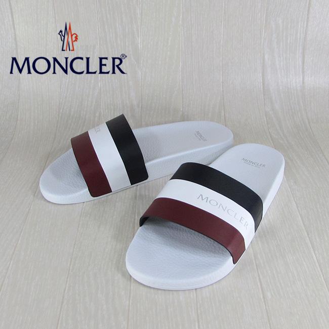 モンクレール MONCLER モンクレール MONCLER メンズ サンダル スポーツサンダル 1013800 07857 / 431 /ホワイト 白 サイズ:39~44