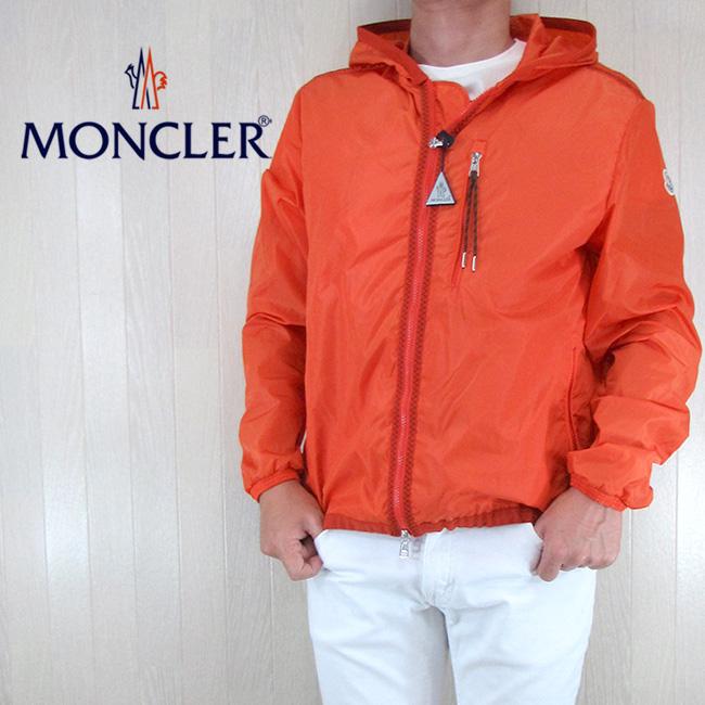 モンクレール MONCLER メンズ ブルゾン ジャケット アウター 4162305 54155 / 328 / オレンジ サイズ:1~4