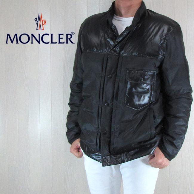 モンクレール MONCLER メンズ ダウンジャケット ダウンブルゾン アウター 4030750 53858 / 999 / ブラック 黒 サイズ:3/4