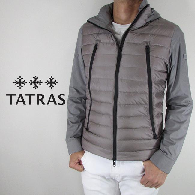 タトラス TATRAS メンズ ダウンジャケット ダウン アウター MTK19A4143 / GRAY / グレー サイズ:1~4