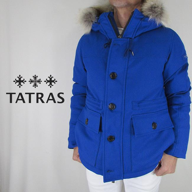 タトラス TATRAS メンズ ダウン ダウンジャケット フーデッドダウン MTK19A4162 / BLUE / ブルー 青 サイズ:1~4