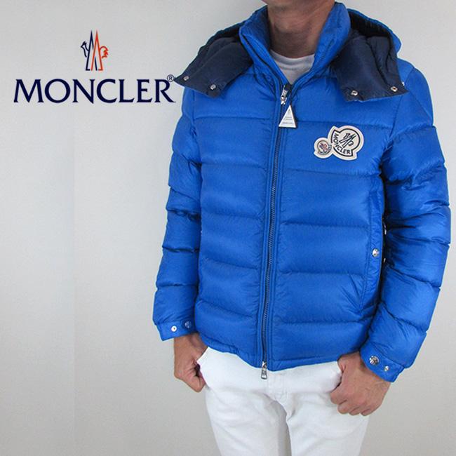 モンクレール MONCLER メンズ ダウンジャケット ダウン アウター 4181149 53334 / 71F / ブルー サイズ:1/2/3