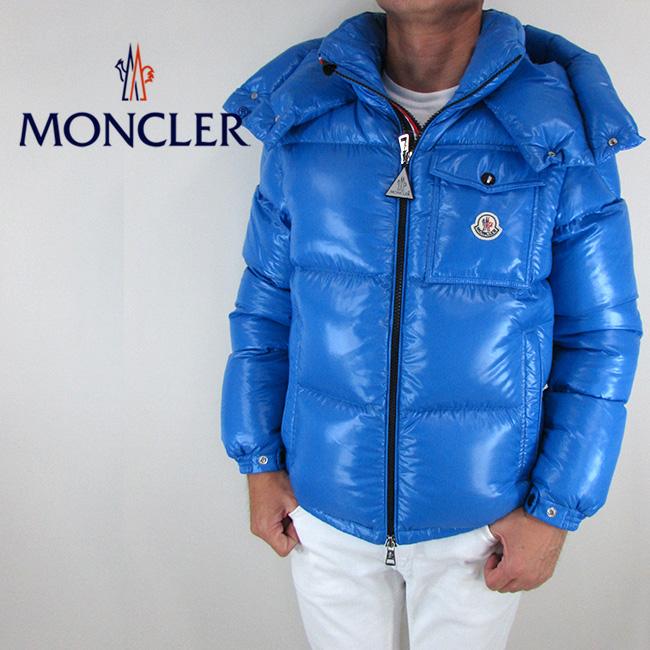 モンクレール MONCLER メンズ ダウンジャケット ダウン アウター 4180305 68950 / 720 / ブルー サイズ:2
