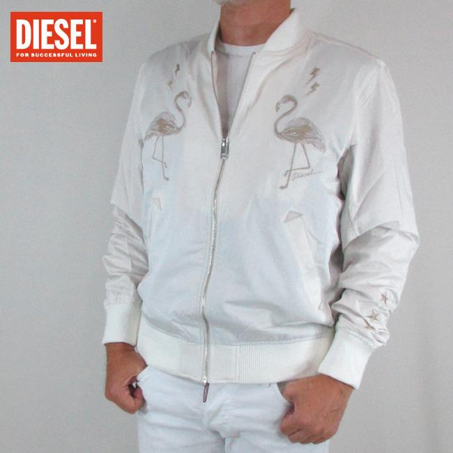 ディーゼル DIESEL メンズ アウター ブルゾン ジャケット J-FLAM CHAQUETA / 129 / オフホワイト サイズ:S~XXL