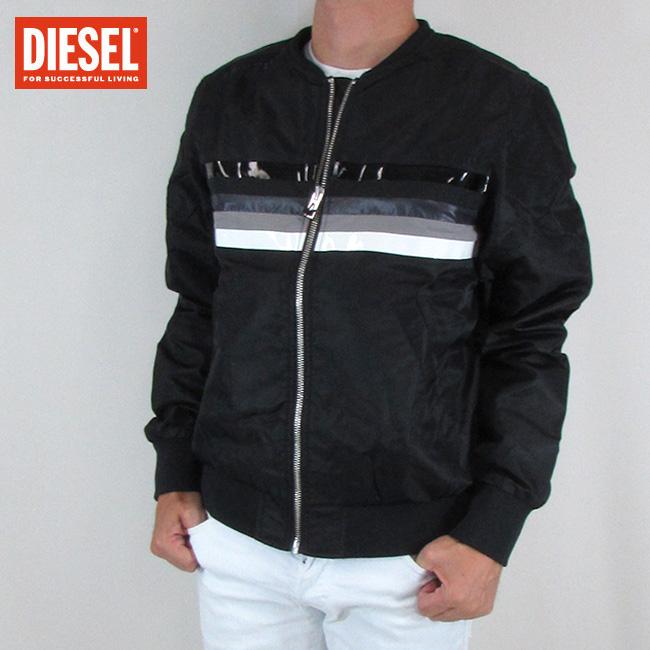 ディーゼル DIESEL メンズ アウター ブルゾン ジャケット J-SLATER / 900 / ブラック サイズ:L