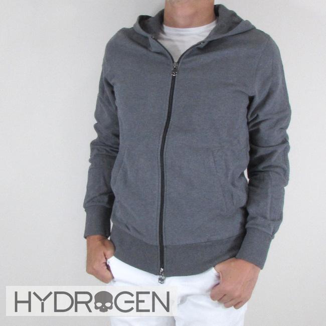 ハイドロゲン HYDROGEN パーカー ジップアップパーカー スウェット メンズ ブルゾン 214006 / 163 / グレー サイズ:S~XL