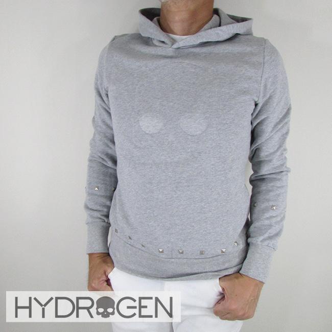 ハイドロゲン HYDROGEN パーカー トレーナー プルオーバー パーカ スウェット メンズ 214120 / 15 / グレー サイズ:S~XXL