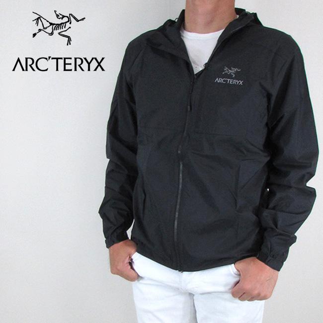 アークテリクス ARC'TERYX ジャケット メンズ ウインドブレーカー ナイロンジャケット / ブラック サイズ:XS~M