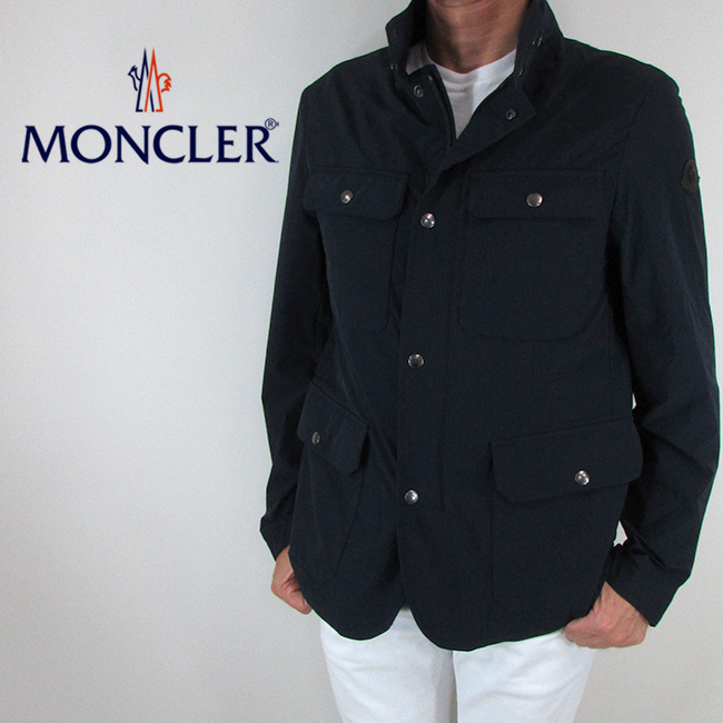 モンクレール MONCLER メンズ ジャケット ジャンパー ブルゾン アウター 4110005 53791 / 775 / ネイビー サイズ:2~6