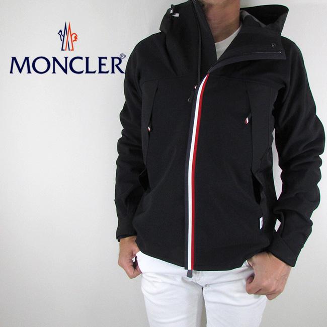 モンクレール ガムブルー MONCLER GAMME BLEU メンズ ジャケット ブルゾン アウター 8401150 80995 / 999 / ブラック サイズ:S~XL