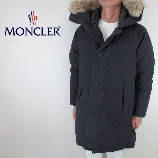 モンクレール MONCLER メンズ ダウンジャケット ダウンコート アウター 4233325 57843 / 742 / ネイビー サイズ:2/3