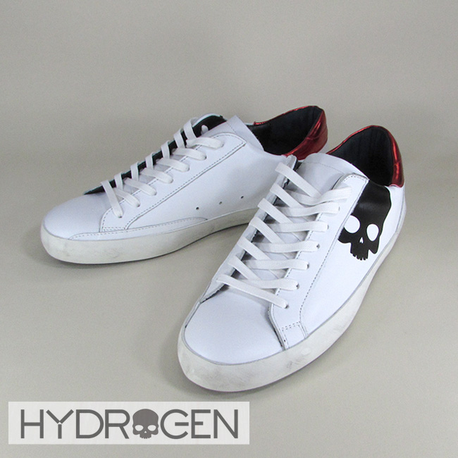 ハイドロゲン HYDROGEN スニーカー ローカット シューズ 靴 メンズ 233704 / 001 / ホワイト サイズ:41~44