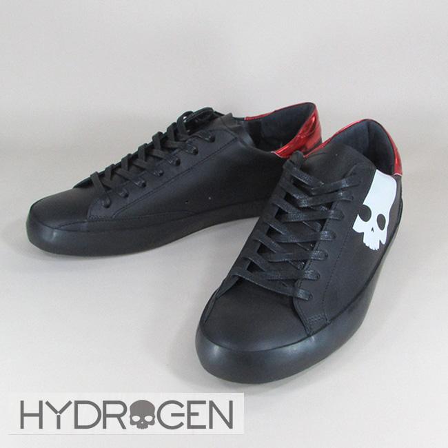 ハイドロゲン HYDROGEN スニーカー ローカット シューズ 靴 メンズ 233704 / 007 / ブラック サイズ:41~44