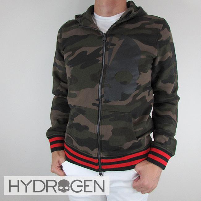 ハイドロゲン HYDROGEN パーカーパーカー ジップアップ パーカー スウェット メンズ 230642 / 060 / カモフラ サイズ:S~XXL