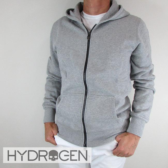 ハイドロゲン HYDROGEN パーカーパーカー ジップアップ パーカー スウェット メンズ 230102 / 015 / グレー サイズ:S~XXL