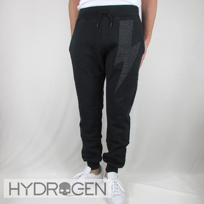 ハイドロゲン HYDROGEN メンズ パンツ スウェットパンツ ボトム リラックスパンツ 230121 / 007 / ブラック サイズ:S~XL