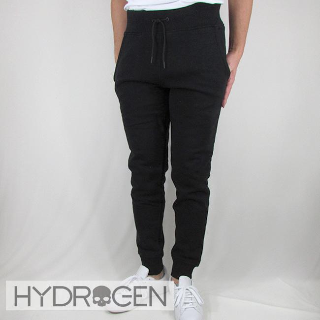 ハイドロゲン HYDROGEN メンズ パンツ スウェットパンツ ボトム リラックスパンツ 230646 / 007 / ブラック サイズ:S~XXL