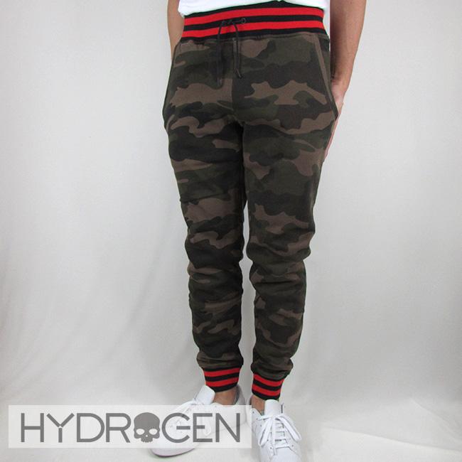 ハイドロゲン HYDROGEN メンズ パンツ スウェットパンツ ボトム リラックスパンツ 230646 / 060 / カモフラ サイズ:S~XXL