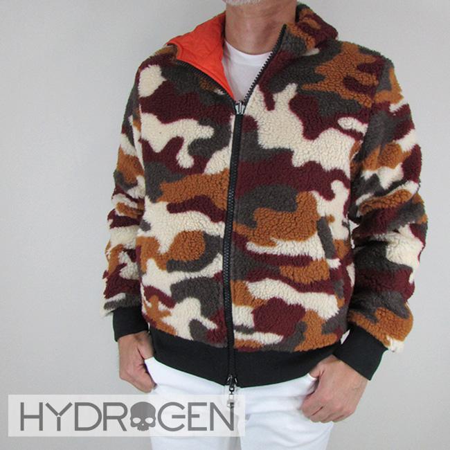 ハイドロゲン HYDROGEN メンズ ブルゾン フリース ジャケット アウター 230700 / 369 / オレンジカモ サイズ:S~XL