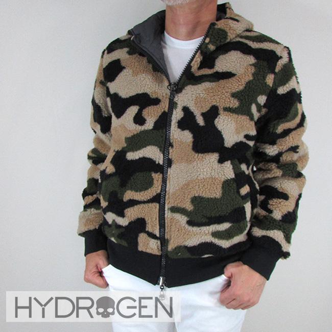 ハイドロゲン HYDROGEN メンズ ブルゾン フリース ジャケット アウター 230700 / B98 / カーキカモ サイズ:S~XL