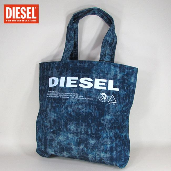 ディーゼル DIESEL バッグ メンズ トートバッグ ハンドバッグ 肩掛け X05879 P2088 / T6331 / ネイビー