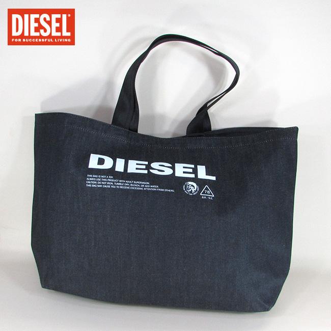 ディーゼル DIESEL バッグ メンズ トートバッグ ハンドバッグ 肩掛け X05513 PR413 / T6065 / ブラック