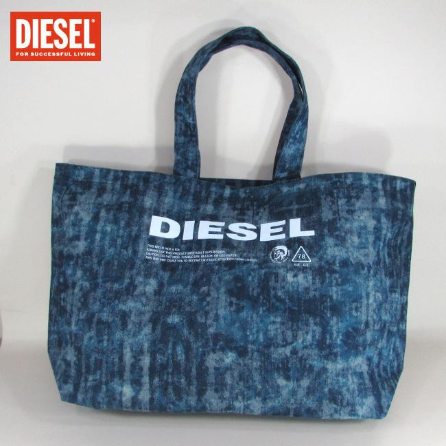 ディーゼル DIESEL バッグ メンズ トートバッグ ハンドバッグ 肩掛け X05897 P2088 / T6331 / ネイビー