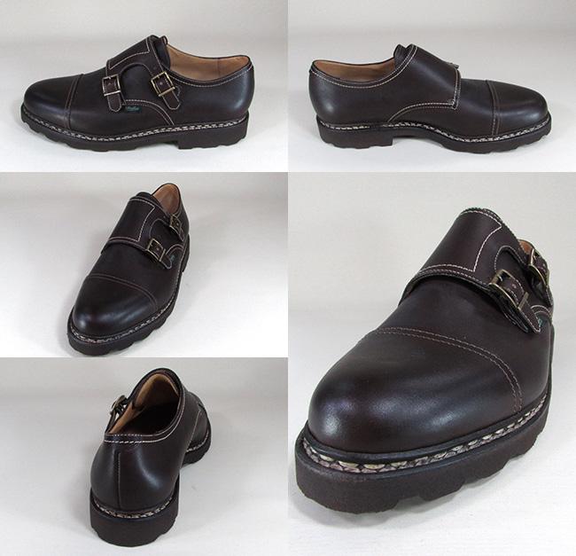 パラブーツ Paraboot メンズ レザーシューズ ビジネス 靴 WILLIAM 981413 / 98413 / MARRON サイズ:5.5~10