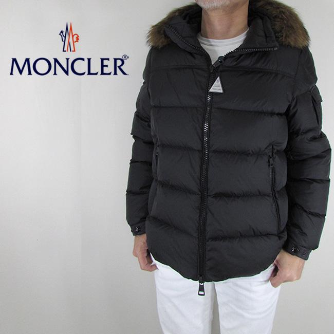 モンクレール MONCLER メンズ ダウンジャケット ダウン アウター 4137825 53227 / 999/ ブラック サイズ:2/3/4